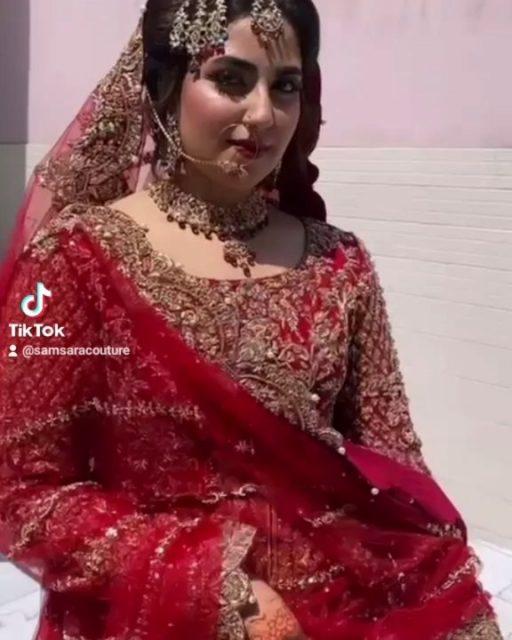 Just a stunning #SamsaraBride in her #bespoke #SamsaraCoutureHouse bridal ♥️😍
