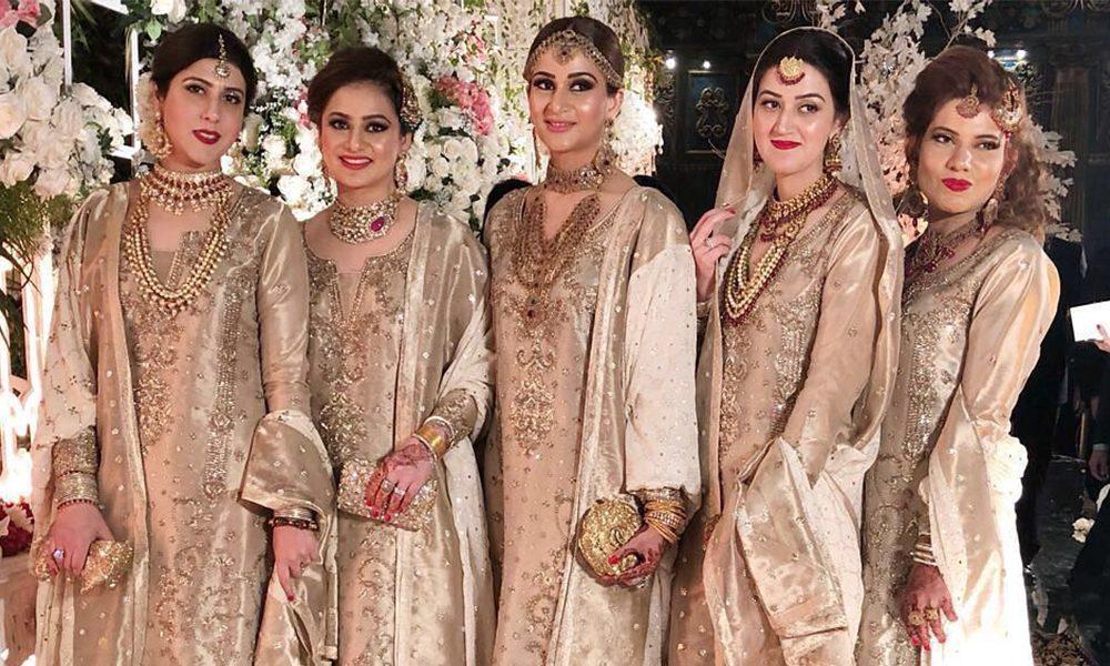 sister of bride dresses pakistani